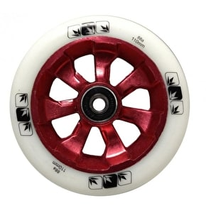 Blunt 7 Spoke 110mm Metal Core Wheel - Red / White